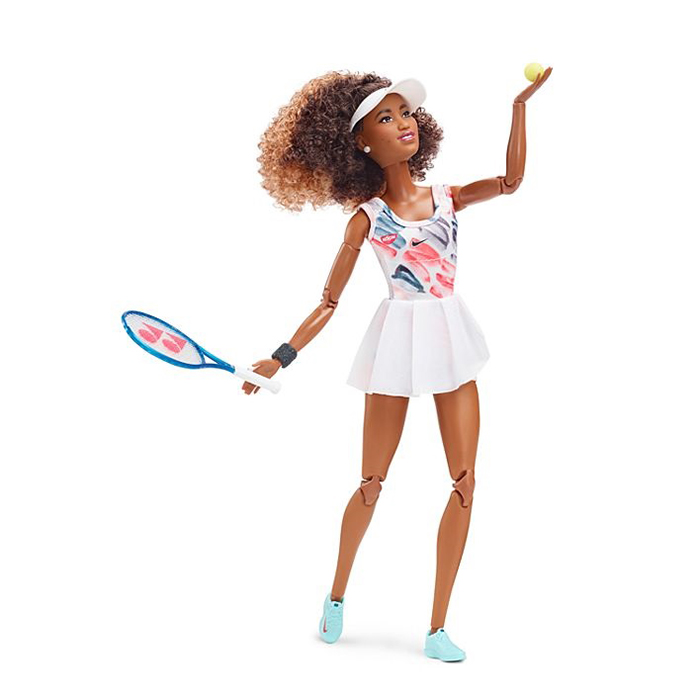 mattel professional tennis player barbie signature doll
