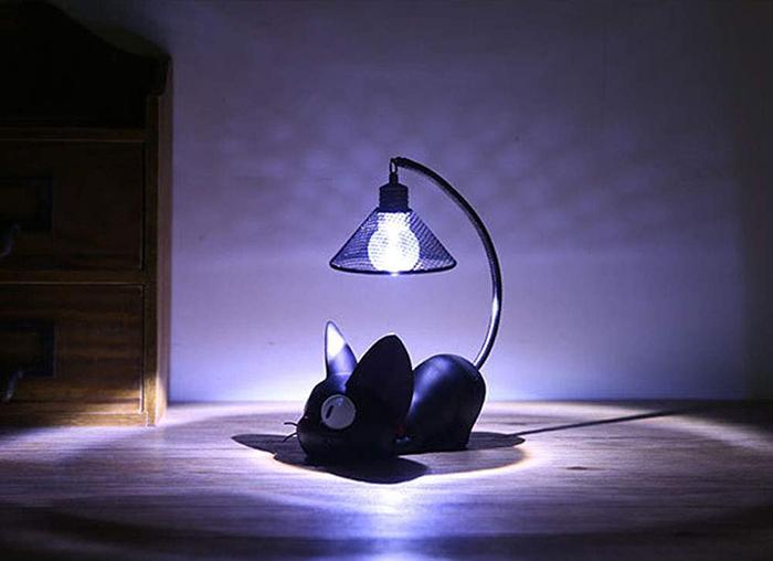 mini kitty desk light