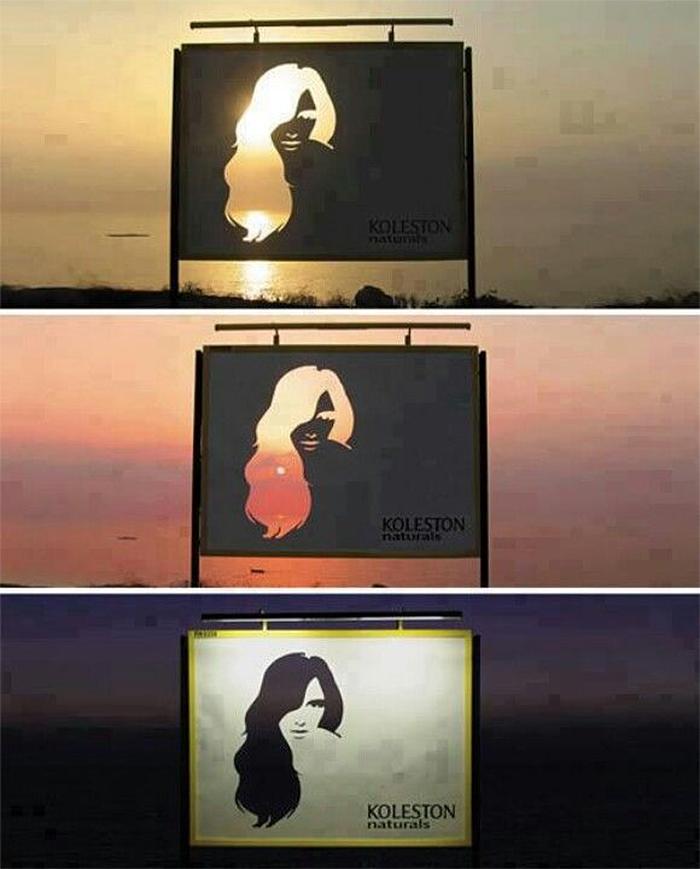 multi-colored hair ad