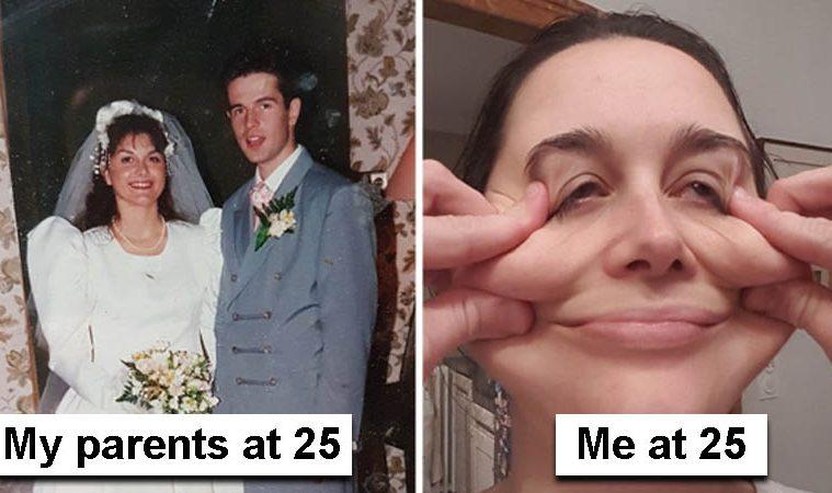 my parents vs me