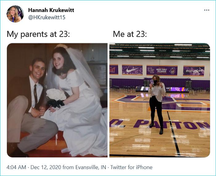 my parents vs me hannah krukewitt