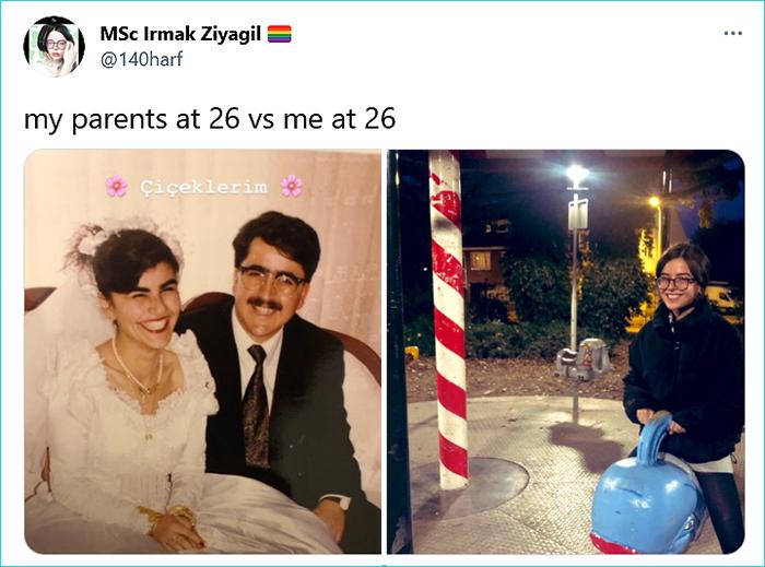 my parents vs me irmak ziyagil