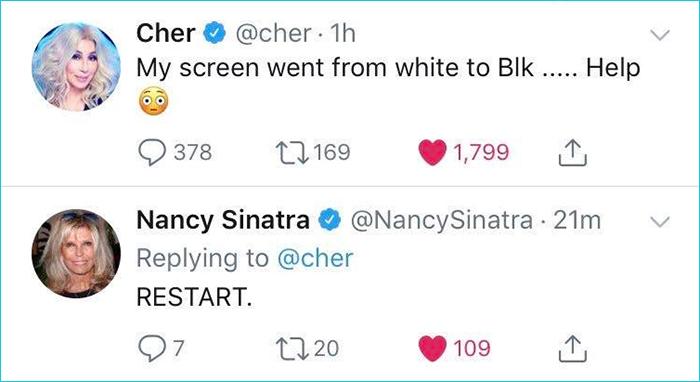 old people technology struggles celebrities