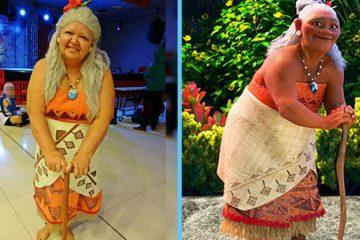 older woman cosplay