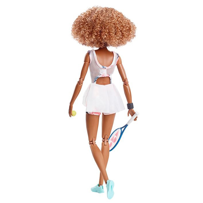 professional tennis player barbie doll