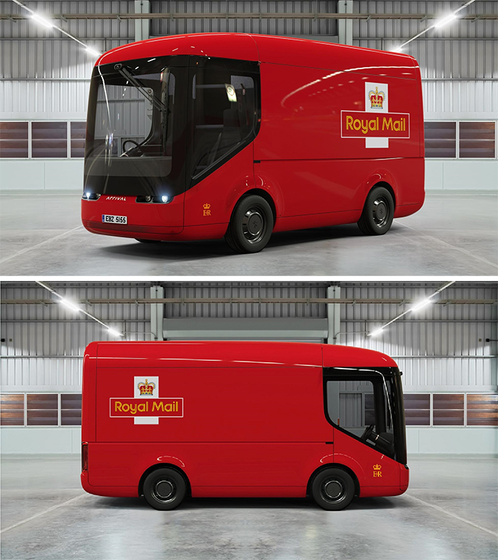royal mail electric delivery van
