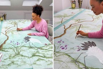 silk watercolor painting