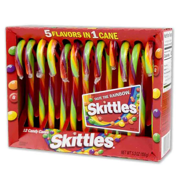 skittles candy canes