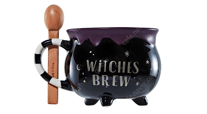 starbucks cauldron mug witches brew