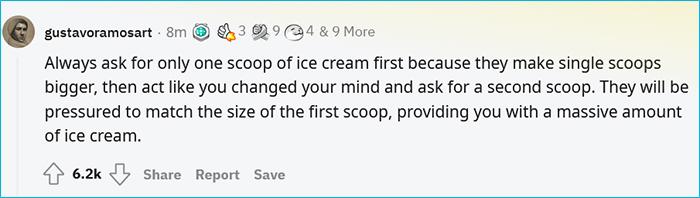 street smarts single scoop ice cream