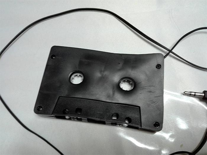 summer heatwaves melting cassette tape