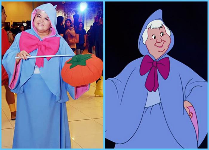 tia sol cosplay cinderella fairy godmother