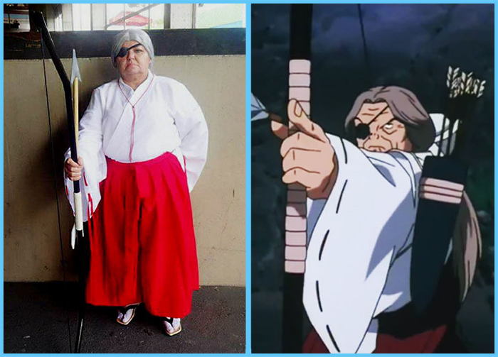 tia sol cosplay inuyasha kaede