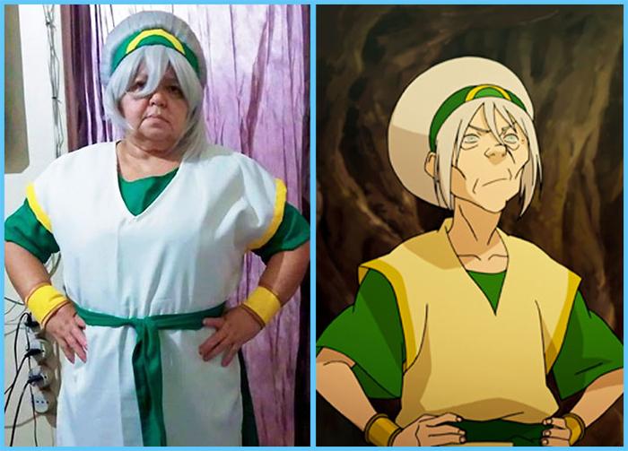 tia sol cosplay legend of korra toph beifong