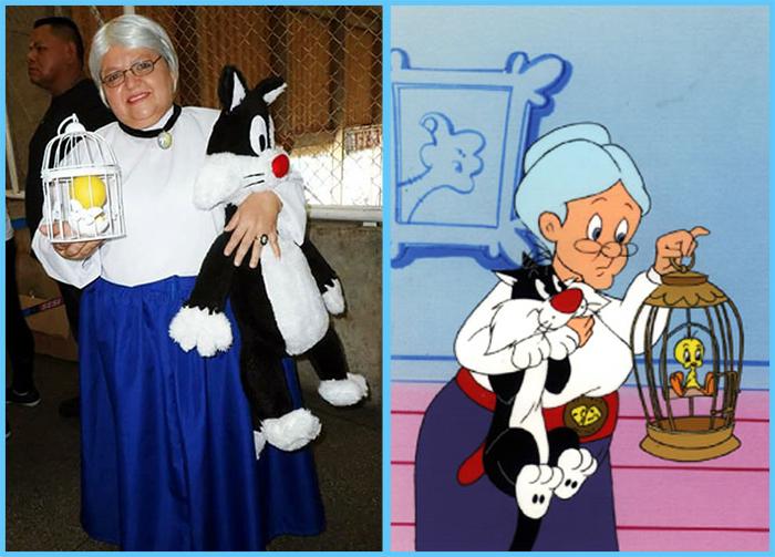 tia sol cosplay looney tunes granny