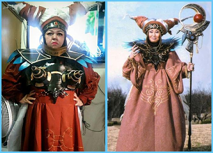 tia sol costume play power rangers rita repulsa