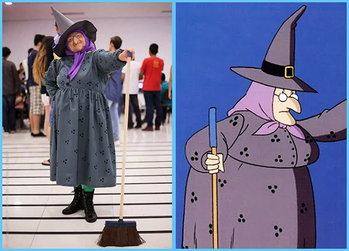 tia sol costume play the triplets the bored witch