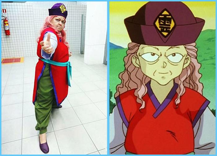 tia sol costume play yuyu hakusho genkai