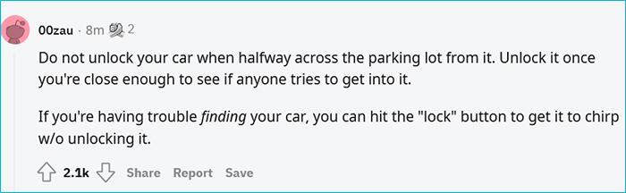 unlock car when you are close enough