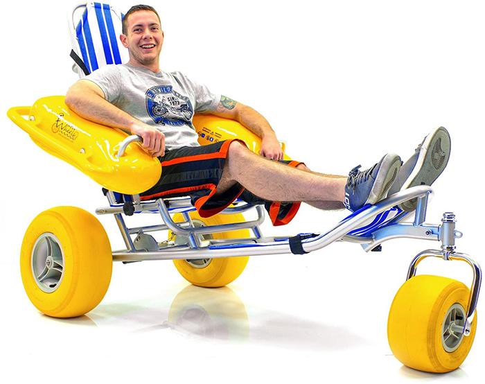 waterwheels three-wheeled pool buggy