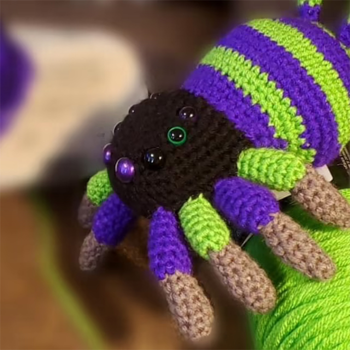 yarn animal pattern