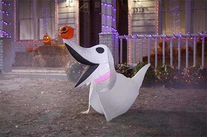 zero inflatable halloween outdoor decor