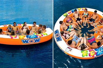 12-Person Inflatable Island