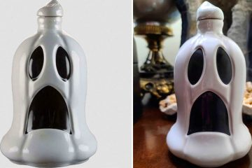 Ghost Edition Tequila Bottles