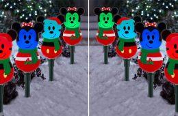 Mickey And Minnie Pathway Lights
