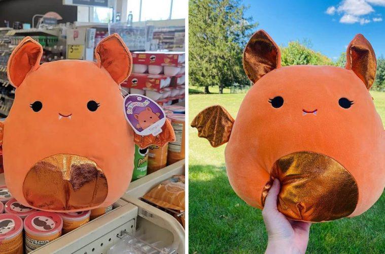 Orange Bat Squishmallow