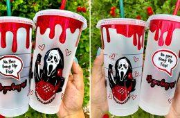 Starbucks Scream Tumbler