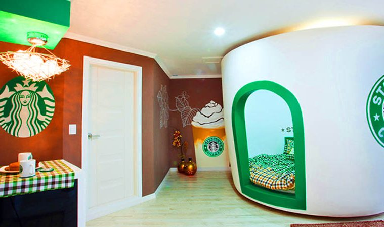 Starbucks room