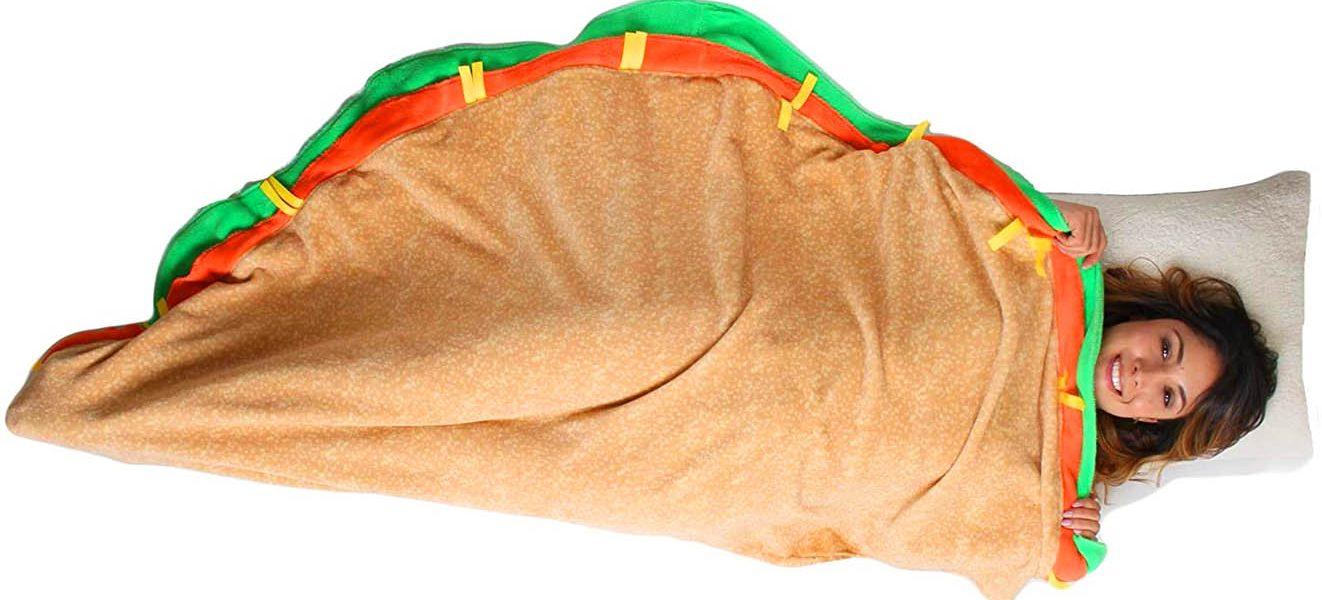 Taco Sleeping Bag Blanket