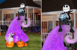The Nightmare Before Christmas Inflatable