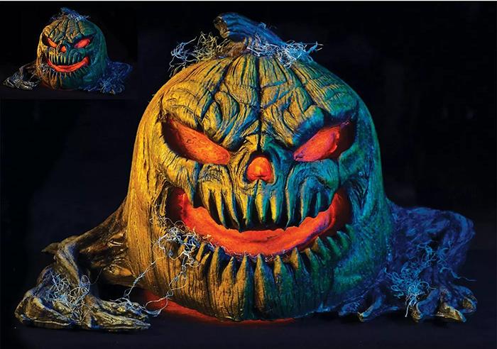 animated jack o' lantern front
