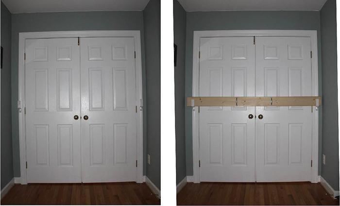 battenshield simple door barricade