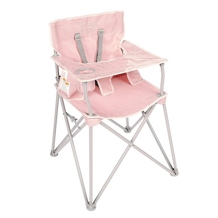 ciao baby portable high chair blush