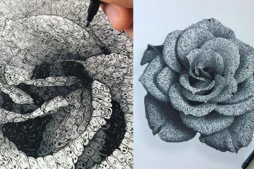 drawings with lost souls