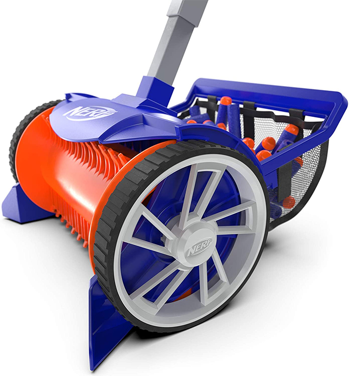 foam bullet rover tooth-like spool