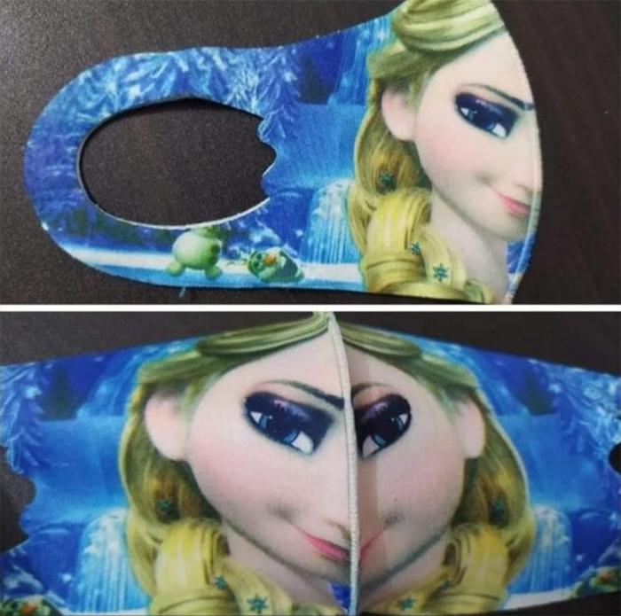 frozen face mask fail