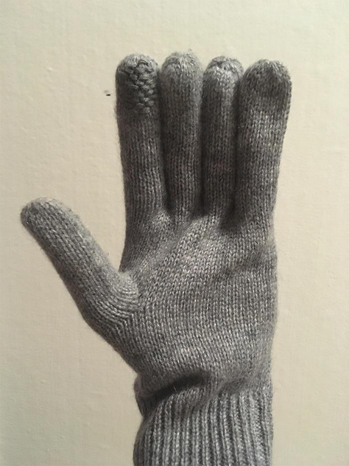 gloves same length fingers