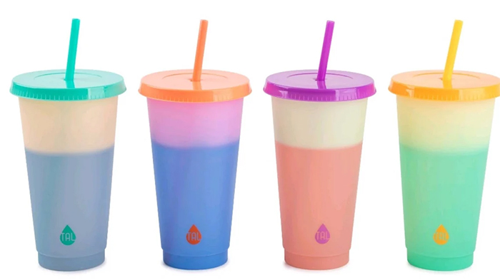 halloween color-changing cups colors