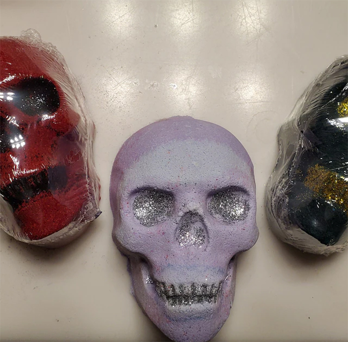 halloween-themed beauty essentials scented