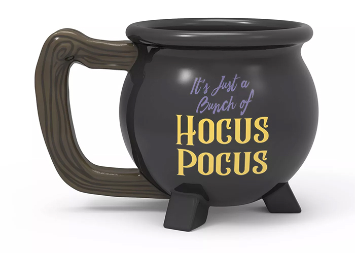 hocus pocus cauldron mug 11-oz ceramic