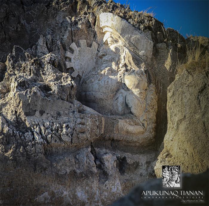 incan deities monuments