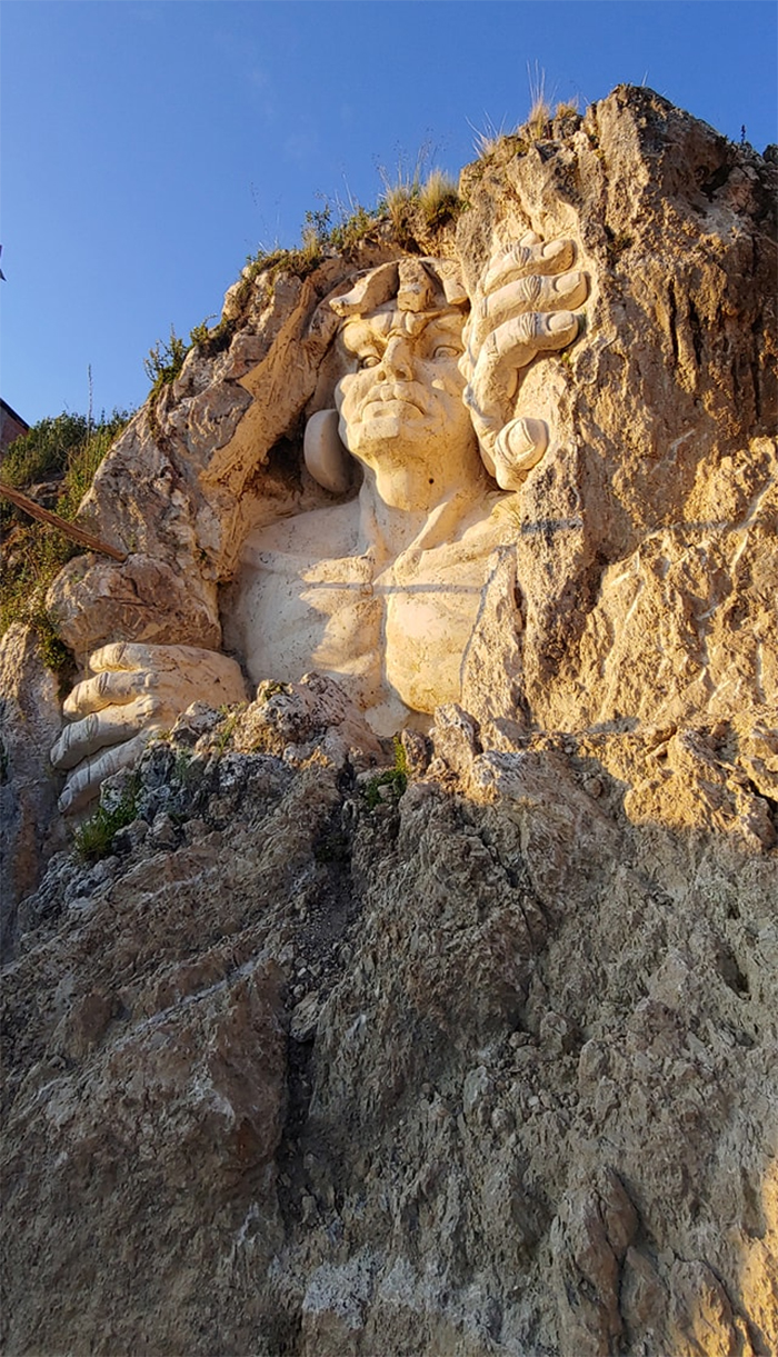 incan deities mountain monument cusco peru