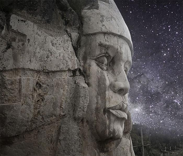 incan deities mountain monument peru