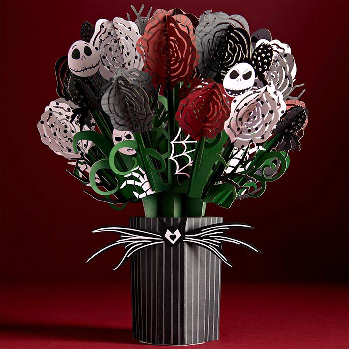 jack skellington halloween paper flowers