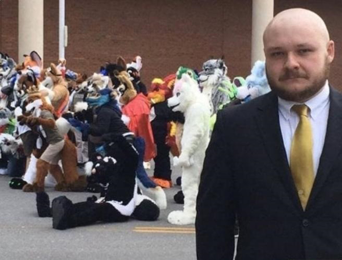 man's wedding venue double-booked with furry convention