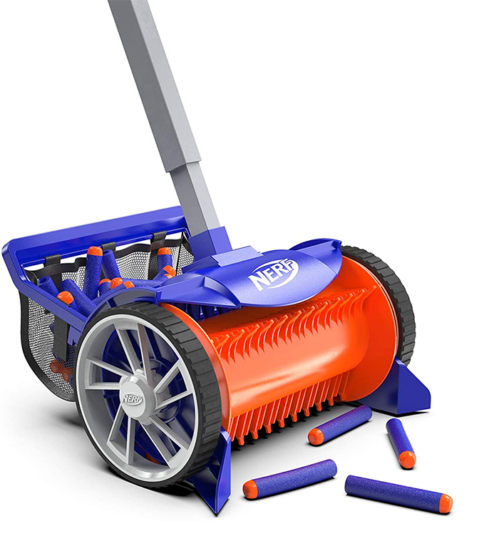 nerf dart vacuum cleaner